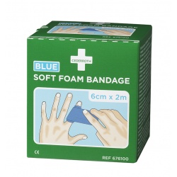 Bandaż piankowy Cederroth Soft Foam Bandage Blue 676100